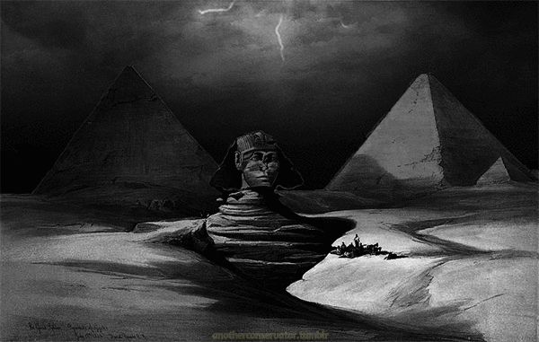The Great Sphinx, Pyramids of Gizeh