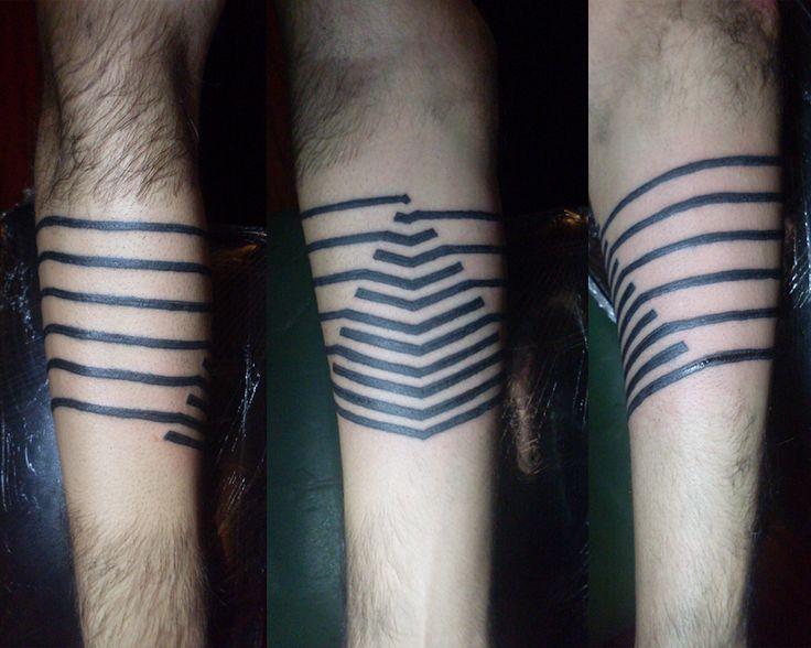 #tattoo #pyramid #geometry