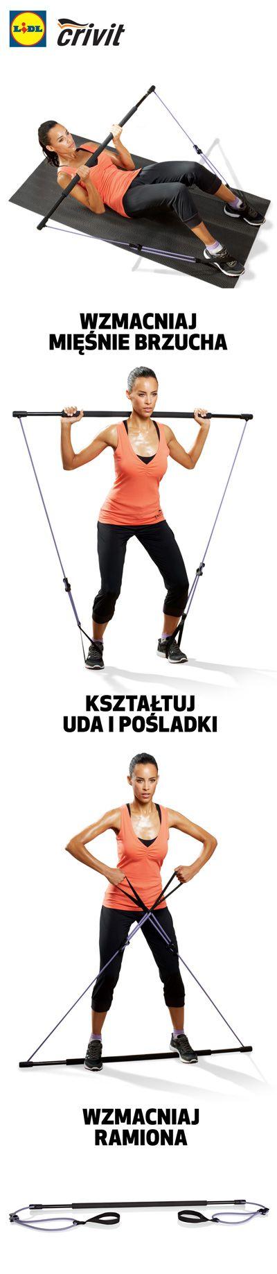 Ten prosty przyrząd wzmocni Twoje uda, pośladki, ramiona u brzuch! #lidl #fitness #kij #trening