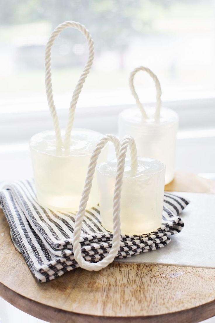 DIY Soap On A Rope