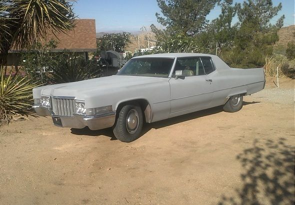 Used Classic Car For Sale in Joshua Tree , California: 1970 Cadillac DeVille - GreatVehicles.com Classified Ads