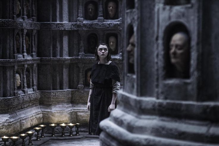 "Take a Peek Inside Game of Thrones' Haunting Set Design for ""The Hall of Faces"" 