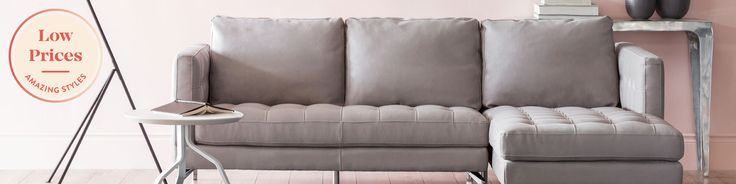 Modern sectional sofas - modular leather couches - Shop Structube USA's selection of comfortable, modern sectional sofas today. Find the best modular couch for you, whether small, large, in leather or in fabric.