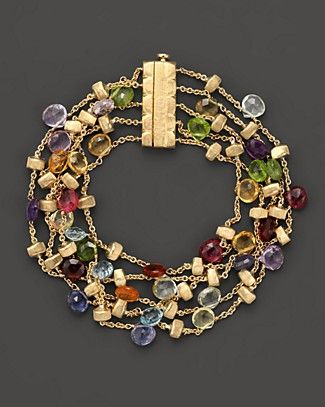 """Marco Bicego """"Paradise Collection"""" Five Strand Gold Bracelet   Bloomingdale's"""