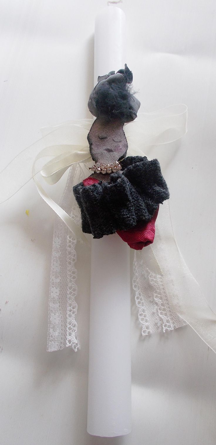 handmade easter candle -lambada- by mademeathens #easter