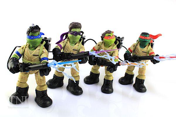 Teenage Mutant Ninja Turtles Ninja Ghostbusters Figures Video Review & Image Gallery