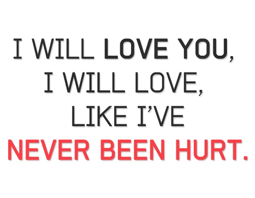Never Been Hurt - Demi Lovato Lyrics