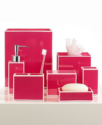 13 Best Pink Bathroom Accessories Images On Pinterest