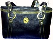 Send online leather hand bag black to Chennai delivery. Fast and same day gifts delivery to all location in Chennai. Cheapest price range from others website. Visit our site : www.flowerschennai.com/Leather_Gifts.php