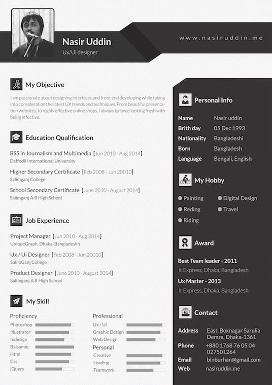 36 best resume images on Pinterest Resume design, Curriculum and - free resume wizard