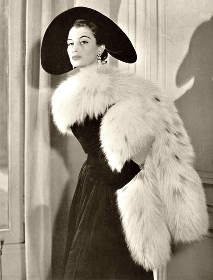 Capucine, 1952. This board is dedicated to her: http://pinterest.com/HistoiredeMode/shes-a-model-capucine/