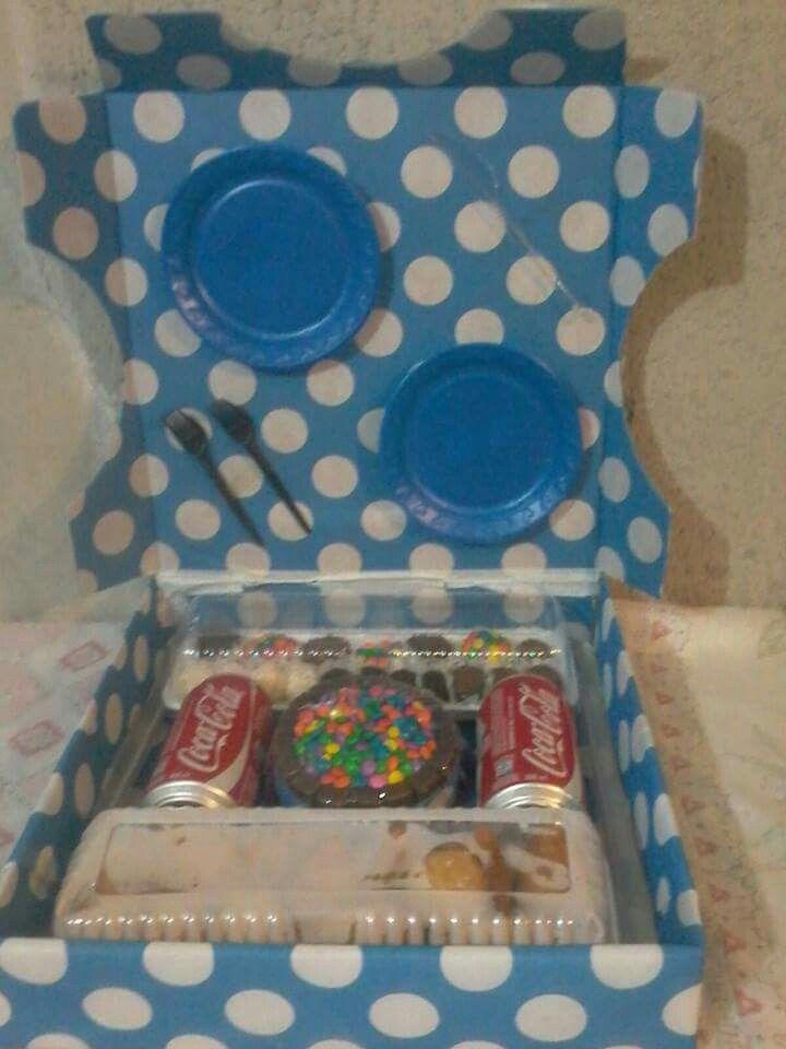 Kit festa na caixa