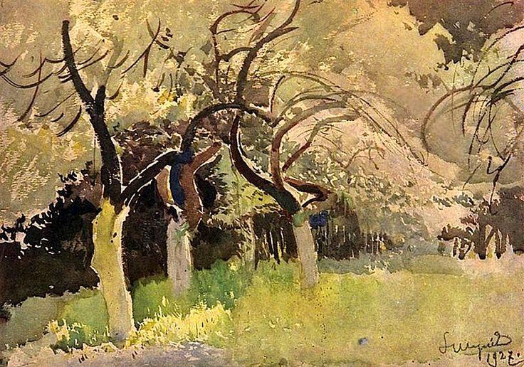 Orchard Leon Jan Wyczolkowski - 1927