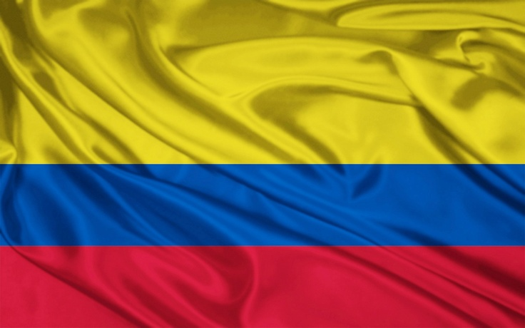Colombian Flag  Shakira...great coffee...and an old friend Andres!