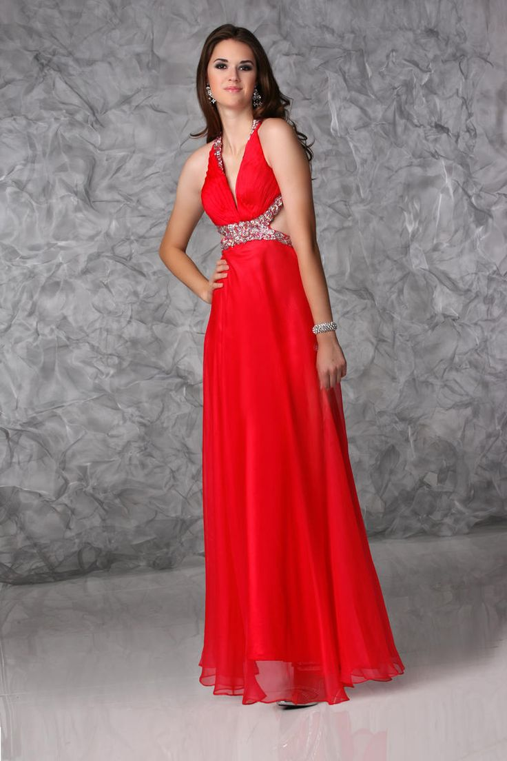 96 best Top 50 Ruby-Red Bridesmaid Dresses images on Pinterest ...