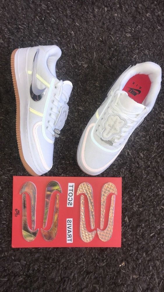 411b6300375 new Air Force 1 Low Travis Scott Sail AQ4211-101 sz 8.5 authentic withbox   fashion  clothing  shoes  accessories  mensshoes  athleticshoes (ebay link)