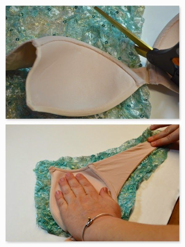 Take a blank costume and make it your own with simple embellishing techniques. In this tutorial we will take a nude bra and a p...