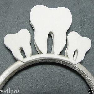 Tooth-FAIRY-Crown-HANDMADE-Halloween-COSTUME-Headband