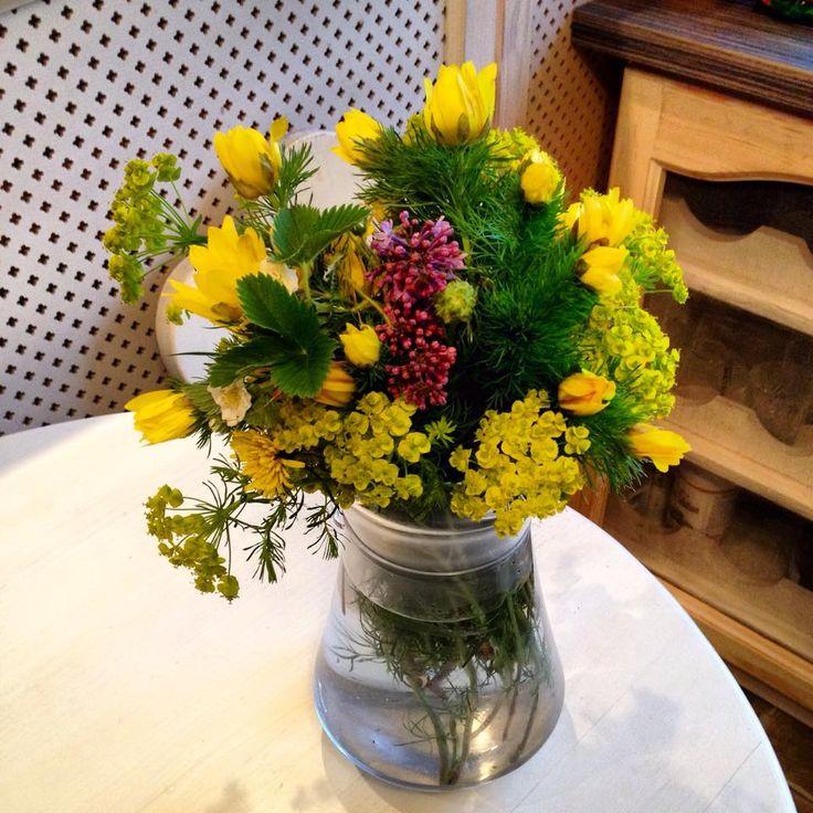 Wild flowers bouquet by Atelier Floristic Aleksandra