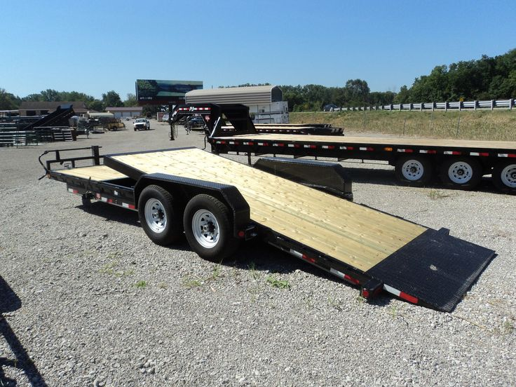 PJ 20 Tilt Equip. Trailer Tilt trailer, Equipment