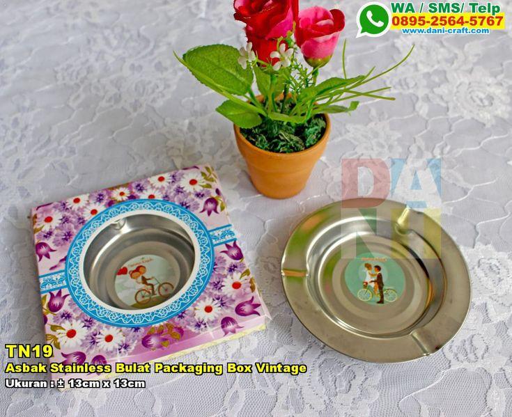 Asbak Stainless Bulat Packaging Box Vintage WA 0857-4384-2114 & 0819-0403-4240 BBM 5B47CC61 #AsbakStainless #DistributorStainless #souvenirMurah