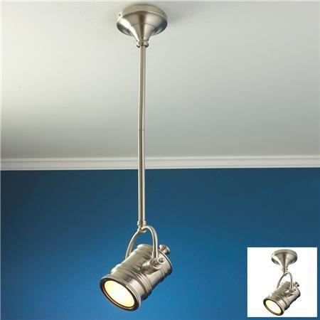 Industrial Spotlight Flush Mount Convertible Ceiling Light