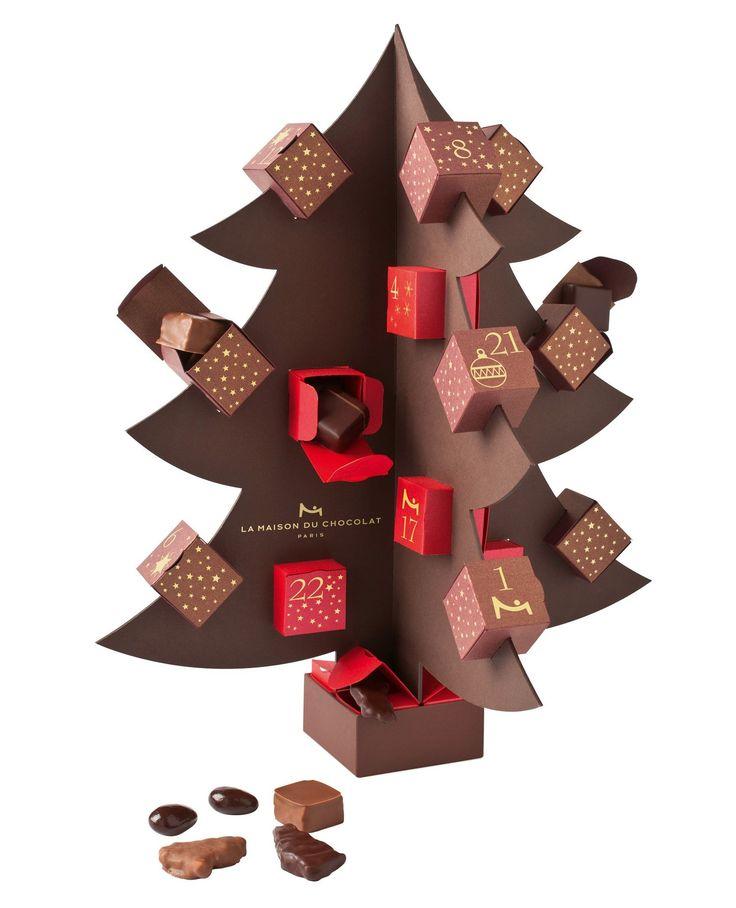 la maison du chocolat's advent calendar <3