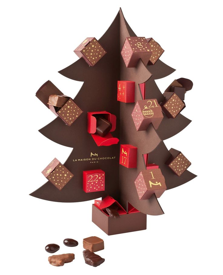 la maison du chocolat's advent calendar <3
