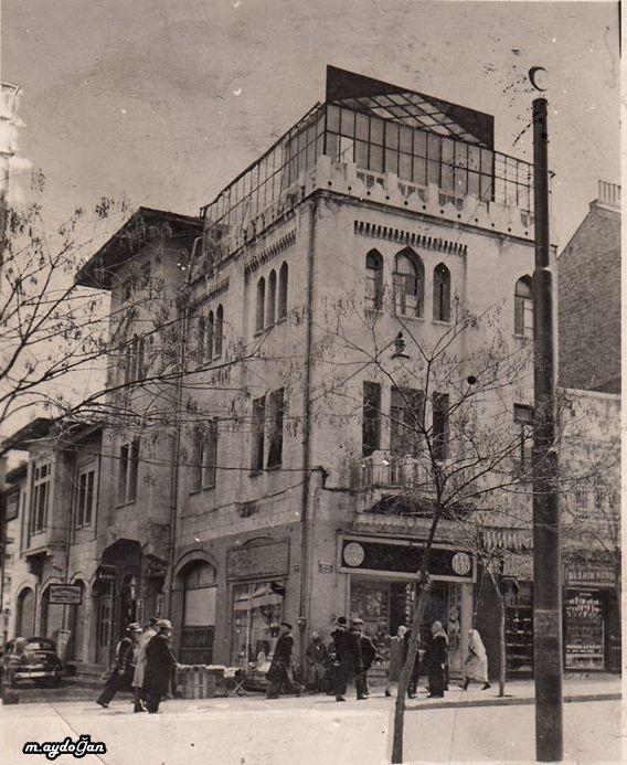 Ankara Anafartalar Halk Bankası binası 1949