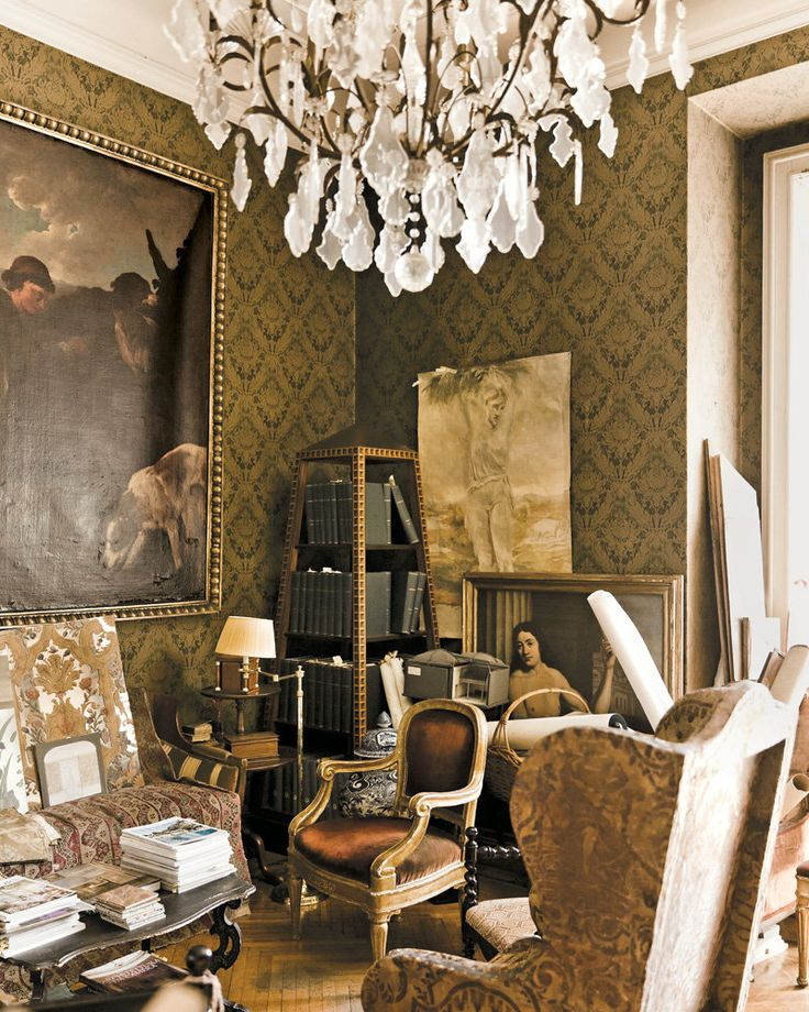 The partners Roberto Peregalli and Laura Sartori Rimini have a knack for conjuring bygone historical eras, while adding a gentle, personal touch.