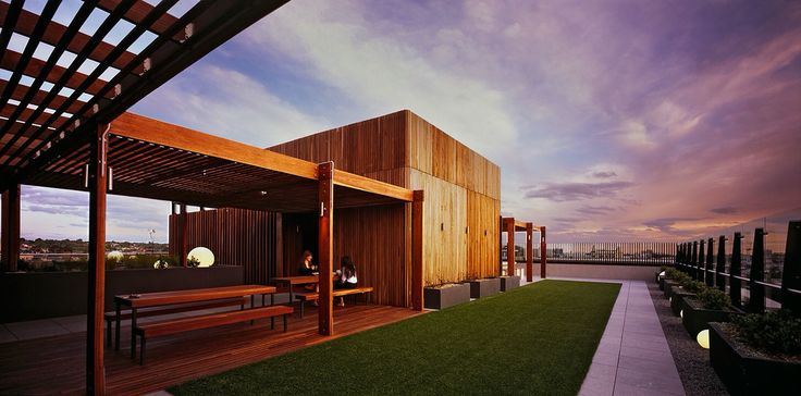 ILK Towers - South Yarra Apartment Rooftop Garden by Landworks Landscaping