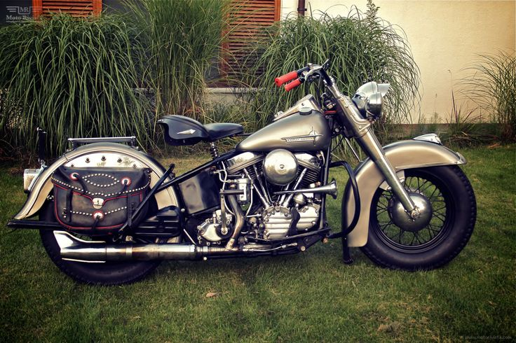 1956 FL Panhead by Customs from Jamesville