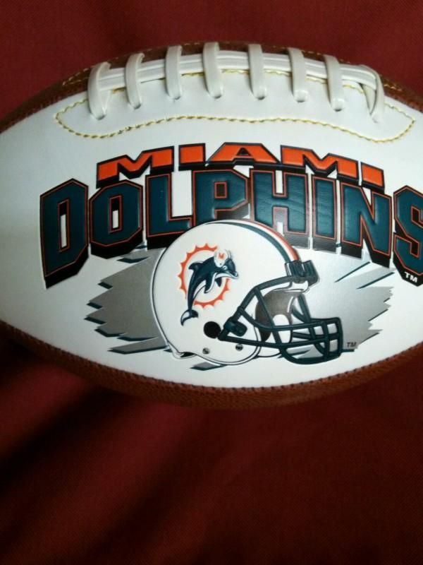 Miami Dolphins football collectible