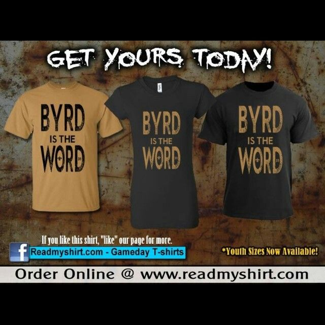 Byrd, Byrd, Byrd… Byrd is the Word!