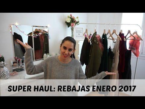SUPER HAUL!! REBAJAS ENERO 2017 (Zara, Stradivarius,WS...) - YouTube