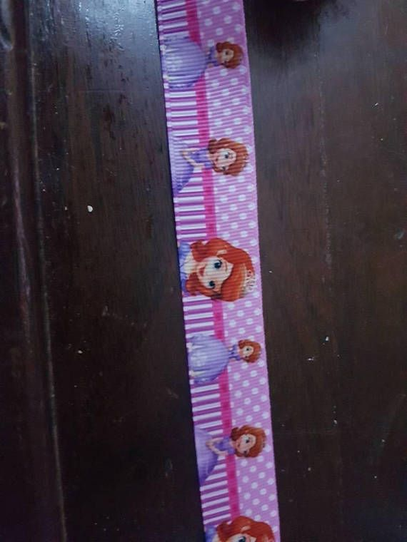Check out this item in my Etsy shop https://www.etsy.com/ca/listing/581749276/sophia-the-first-inspired-grosgrain