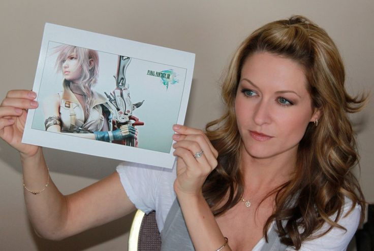Final Fantasy and Mass Effect voice actor shows her other talents