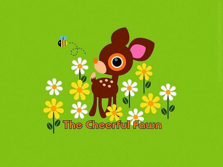 Deery Lou #kawaii #deer #cute