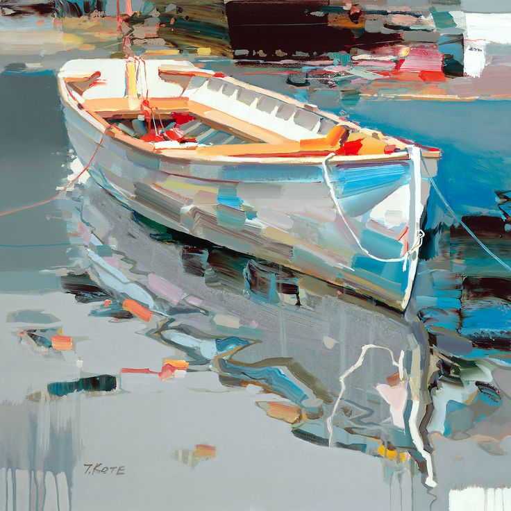 "Josef Kote ""One & One"" Original Acrylic on Canvas"