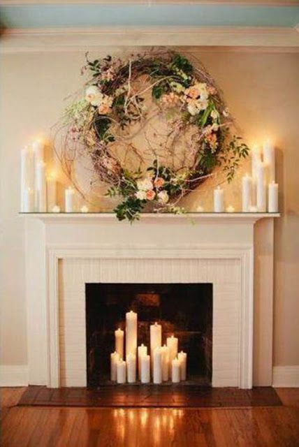 I Heart Shabby Chic Blog Christmas Fireplaces & Mantels 2015 | I Heart Shabby Chic