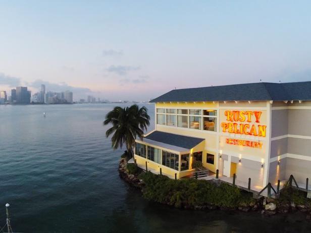 Rusty Pelican, restaurant, Miami, Florida