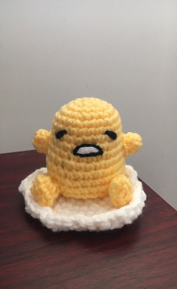 Ravelry: Lazy Egg or Gudetama with bacon pattern by Susie ... | 930x570