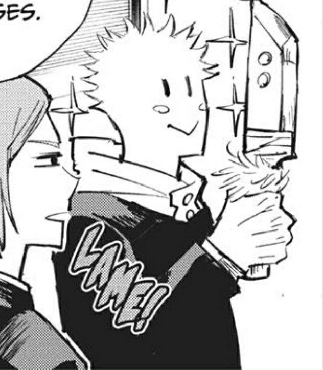 Yuji Itadori Jujutsu Anime Wallpaper Manga Art