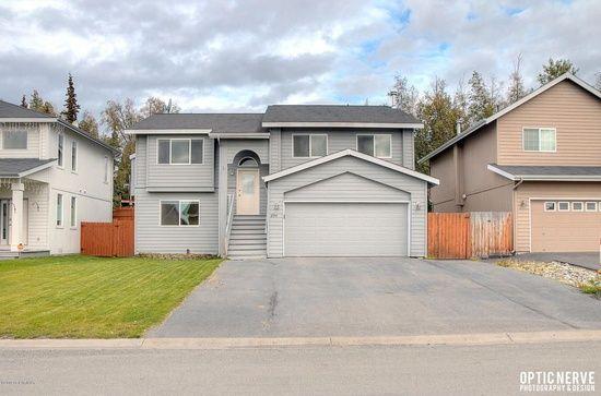 8911 Spruce Brook St, Anchorage, AK 99507, 5 beds, 3 baths, 1989 sqft, $369,900, elem 8, middle 6, high 8
