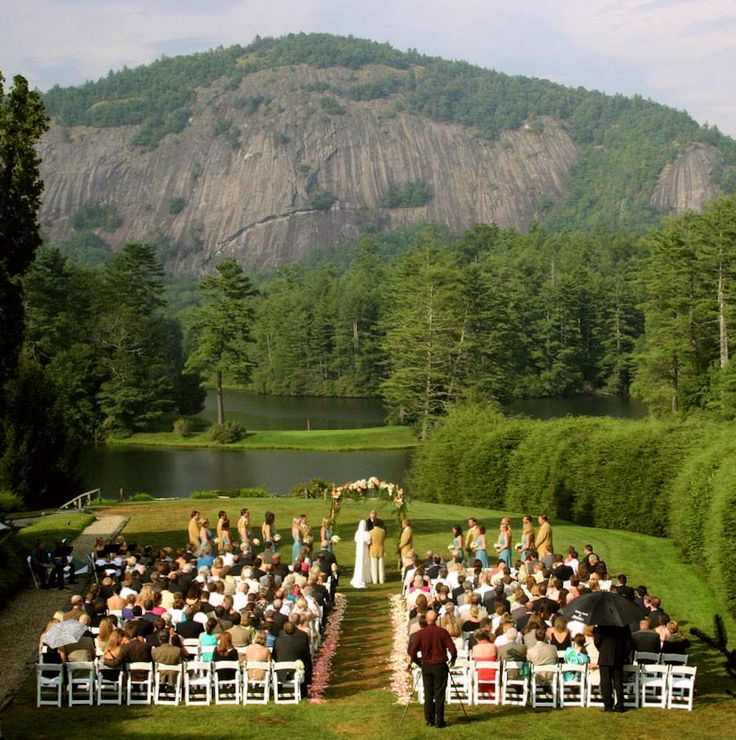 wedding packages western australia%0A What a setting for a wedding ceremony in the mountains of North Carolina