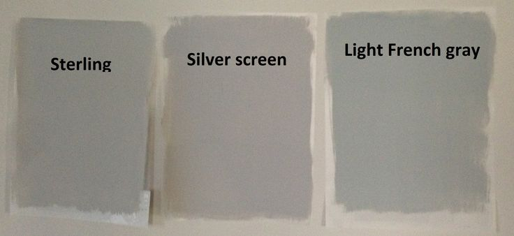 Behr Light Gray Paints Sterling Silver Screen And Light