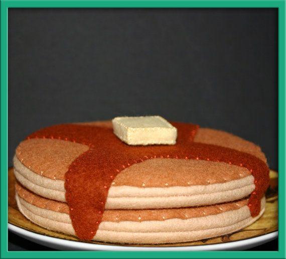 felt pancakes - EvaLauryn