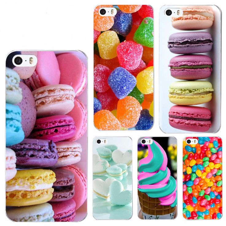 iPhone 4 4s 5 5s SE 6 6s Plastic (PC) Shell Cover Case