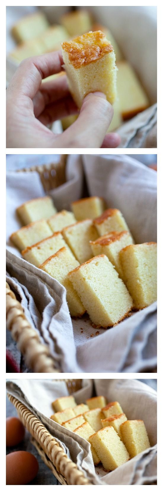 Butter Cake Recipe - the BEST butter cake, rich, super buttery, sweet, and sinfully good. Once you try this recipe, you will be instantly hooked. rasamalaysia.com