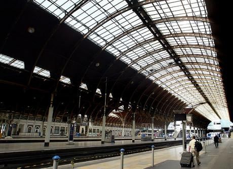 Paddington station: designed by Isambard Kingdom Brunel and opened in 1847.